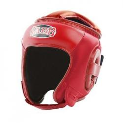 Шлем боксерский Jabb JE-2093, красный, размер L (искусственная кожа)