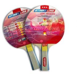 Ракетка для настольного тенниса Start Line. LEVEL 300, коническая, 3 звезды