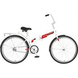Велосипед складной Novatrack TG, колеса 24, цвет белый