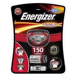 Фонарь налобный Energizer Vision HD, дальность 40 м, 150/180 лм