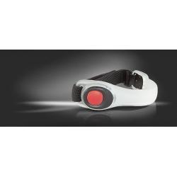 Фонарь Яркий луч V-002R Браслет, 2 красных LED, 2 режима, 2xCR2032 в комплекте