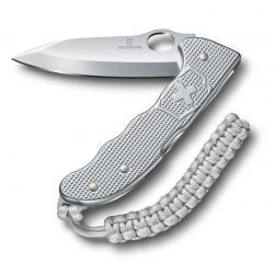 Нож охотника Victorinox Hunter Pro M Alox, 130 мм, 4 функции, с фиксатором лезвия, серебристый