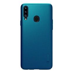 Чехол для телефона Nillkin Super Frosted, для Samsung Galaxy A20S, цвет синий