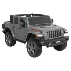 Электромобиль Jeep Gladiator Rubicon 4WD, серый