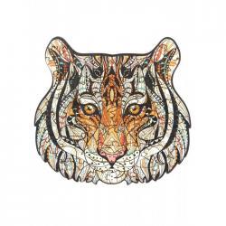 Пазл антистресс, деревянный Сolor tiger (размер M (А4))