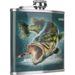 Фляжка Helios Рыба HS-F-F-A20-1, 210 мл