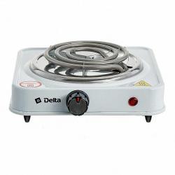Плита электрическая Delta одноконфорочная, цвет белый, артикул D-703