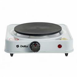 Плита электрическая Delta одноконфорочная, диск, цвет белый, артикул D-704