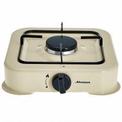 Газовая плита Аксинья одноконфорочная, цвет бежевый, арт. КС-105