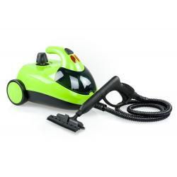 Пароочиститель напольный Kitfort КТ-908, 1500 Вт, зеленый