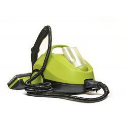 Пароочиститель напольный Kitfort КТ-912, 2000 Вт, зелено-серый