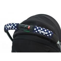 Чехлы Choopie CityGrips на ручку для универсальной коляски, цвет polka-dot navy