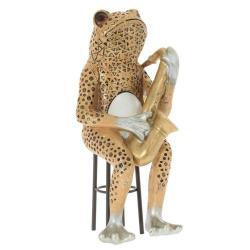 Фигурка декоративная Ремеко. Лягушка, 11х12,5х25 см, полимер