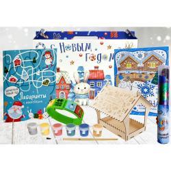 Новогодний подарок Снежный релакс