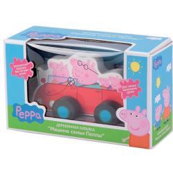 Каталка Свинка Пеппа. Машина семьи Пеппы, дерево