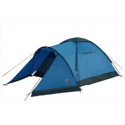Палатка High Peak Ontario 3, синий/тёмно-серый