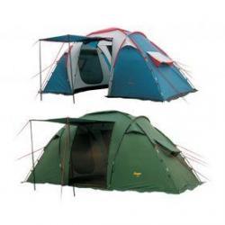Палатка 5-ти местная Canadian Camper TANGA 5 (цвет зелёный)