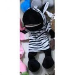 Кукла-перчатка Зебра, с ногами (28 см)