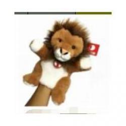 Кукла-перчатка Лев, с ногами (28 см)
