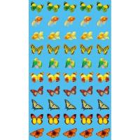 Наклейки для поощрения Бабочки