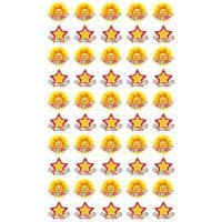 Наклейки для поощрения Звездочки и солнышки