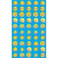 Наклейки для поощрения Солнышки SUPER
