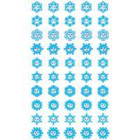 Набор для поощрения на самоклеящейся бумаге Снежинки