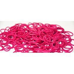 Резинки для плетения Rainbow Loom Solid Bands, фуксия