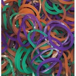 Резинки для плетения Rainbow Loom Разное настроение, микс
