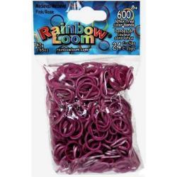 Резинки для плетения Rainbow Loom Средневековье, темно-розовые
