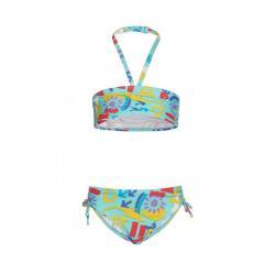 Костюм купальный (топ и трусы-бикини) для девочки Рут, размер 116-60-54, цвет бирюзовый