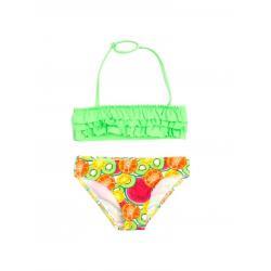 Купальник для девочек Coccodrillo Swimming costume, размер 104, цвет разноцветный, арт. WC1376501SWI-022