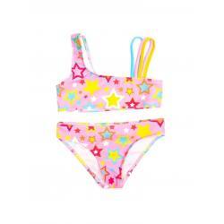 Купальник для девочек Coccodrillo Swimming costume, размер 128, цвет разноцветный, арт. WC1376503SWI-022