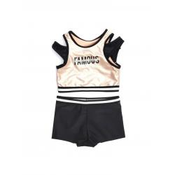 Купальник для девочек Coccodrillo Swimming costume, размер 146, цвет разноцветный, арт. WC1376514SWI-022