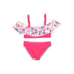 Купальник для девочек Coccodrillo Swimming costume, размер 152, цвет разноцветный, арт. WC1376509SWI-022