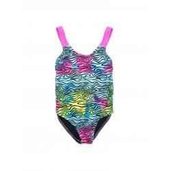 Купальник для девочек Coccodrillo Swimming costume, размер 128, цвет разноцветный, арт. WC1376410SWI-022