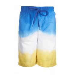 Шорты купальные для мальчика Моррис, размер 92-52, цвет желтый, синий