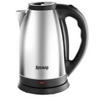 Чайник электрический Яромир ЯР-1056, 1500 Вт, 2,5 л, цвет черный (глянцевый)