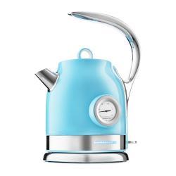 Чайник Kitfort КТ-694-2, 1,7 л, 1850–2200 Вт, голубой