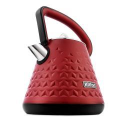 Чайник Kitfort КТ-693-2, 1,5 л, 1850–2200 Вт, красный