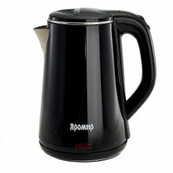 Чайник электрический Яромир, 1500 Вт, 1,8 л, цвет черный, артикул ЯР-1059