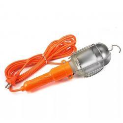 Светильник-переноска LUX ПР-60-15, 15 метров, 60 Вт, E27, металлический кожух (без лампы)