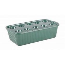 Лоток для выращивания зелёного лука (тёмно-зелёный)