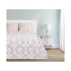 Комплект постельного белья Этель Кантри, 2-спальный, бязь (цвет бежевый, белый)