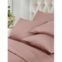 Комплект постельного белья семейный Verossa. Stripe. Rouge, с 4-мя наволочками