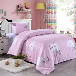 Комплект постельного белья Тучка, детский, цвет розовый