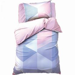 Комплект постельного белья 1,5-спальный Love Life Минимализм (сатин), с наволочкой 50х70 см