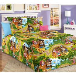 Комплект детского постельного белья Машенька 1, ясельное, бязь (цвет мультиколор)