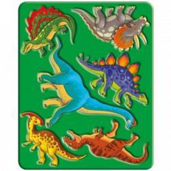 Трафарет Динозавры