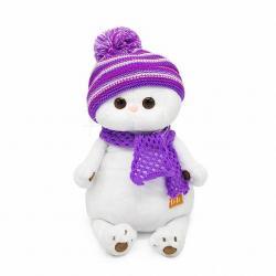 Мягкая игрушка Ли-Ли, в лиловом вязаном комплекте, 27 см
